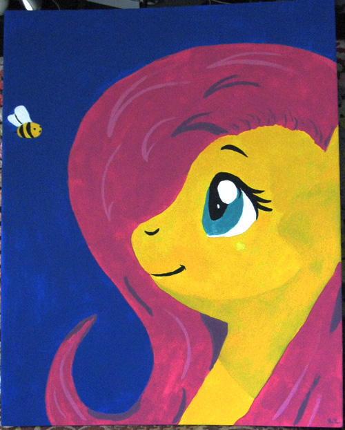 Fluttershy, she's so shy!